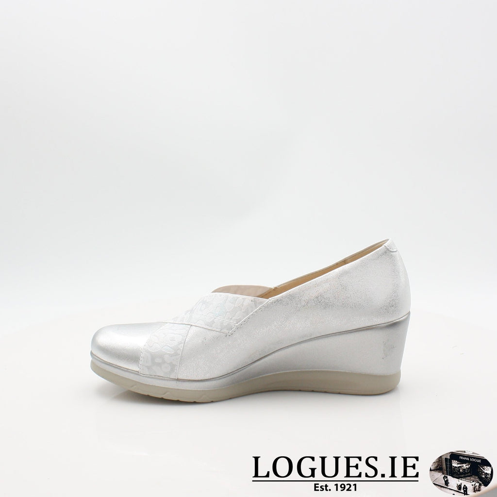 5522 PITILLOS S19LadiesLogues ShoesPLATA / 5.5 UK - 38.5/39 EU - 7.5 US