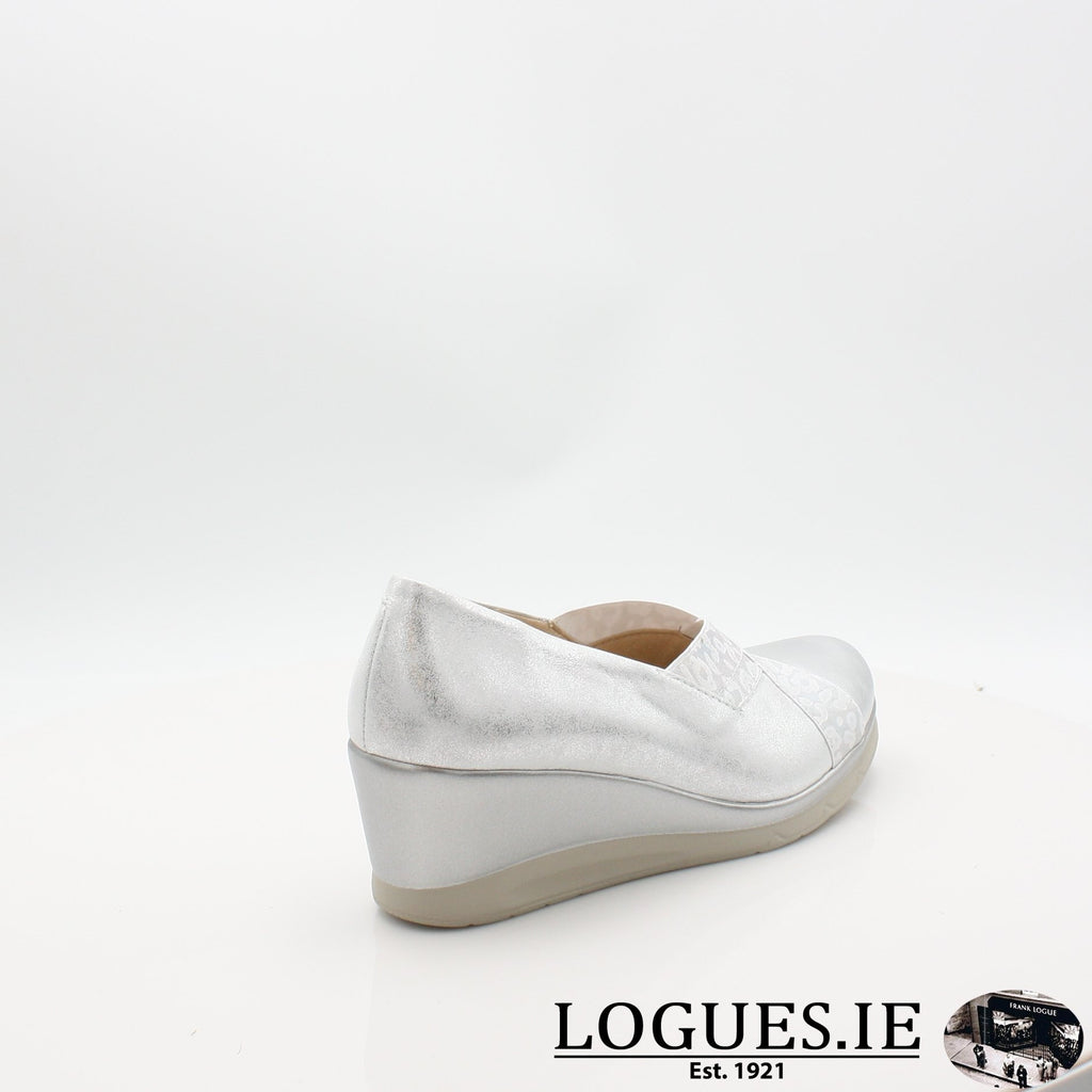 5522 PITILLOS S19LadiesLogues ShoesPLATA / 7 UK- 41 EU - 9 US