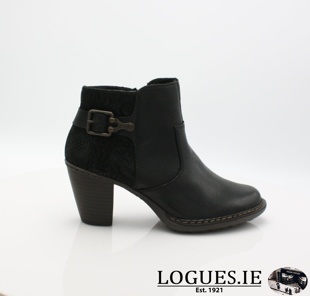 55292 RIEKER 19, Ladies, RIEKIER SHOES, Logues Shoes - Logues Shoes.ie Since 1921, Galway City, Ireland.