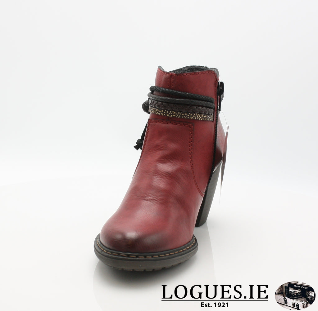 RKR 55298LadiesLogues Shoeswine/testadimoro/ 35 / 38