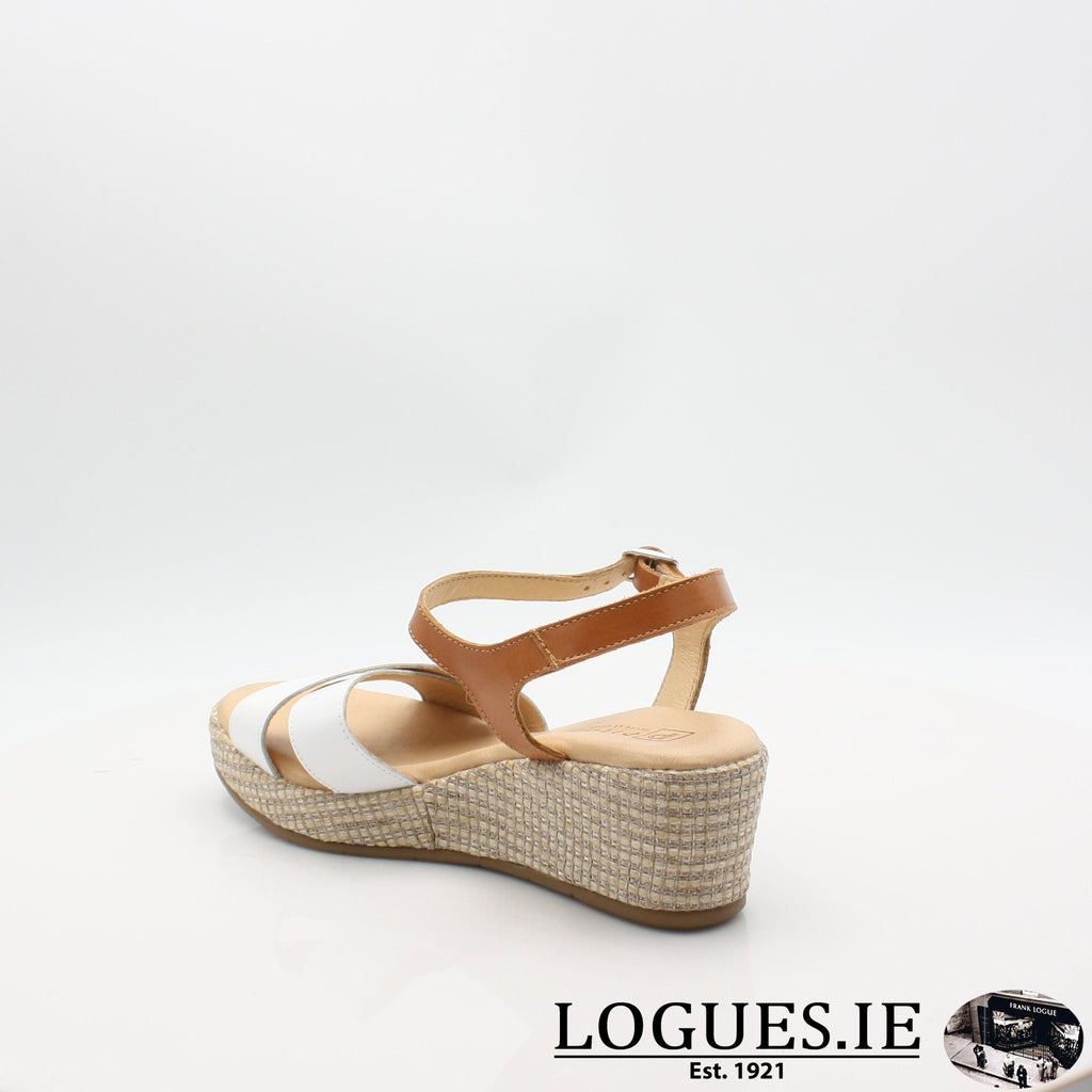 5660 PITILLOS S19LadiesLogues ShoesBLANCO/ALERO / 6 UK- 39 EU - 8 US