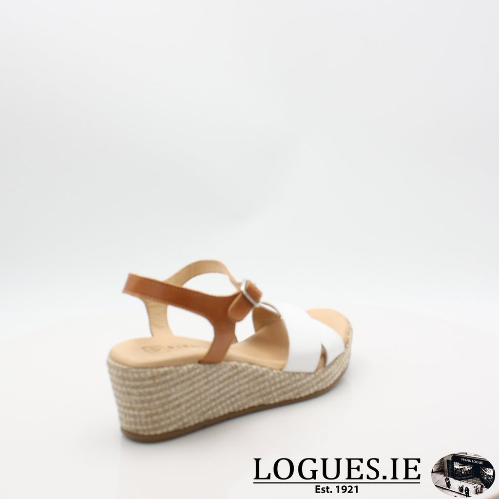 5660 PITILLOS S19LadiesLogues ShoesBLANCO/ALERO / 7 UK- 41 EU - 9 US