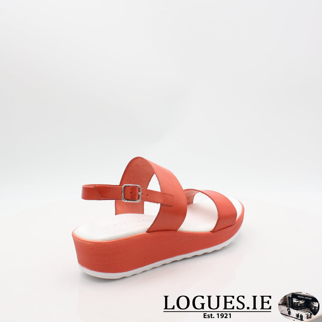 5691 PITILLOS S19LadiesLogues ShoesROJO / 7 UK- 41 EU - 9 US