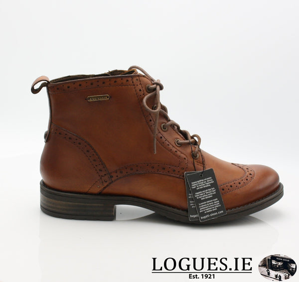 56931 BUGATTI AW18LadiesLogues Shoes6300 COGNAC / 36 = 3 UK