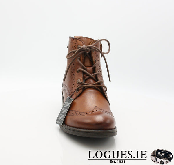 56931 BUGATTI AW18LadiesLogues Shoes6300 COGNAC / 38 = 5UK