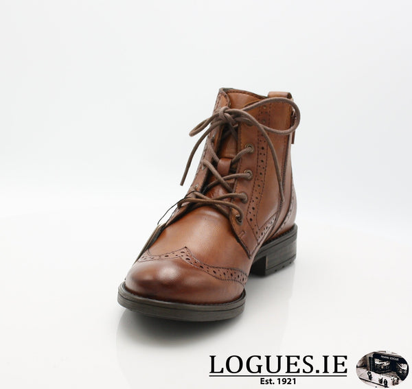 56931 BUGATTI AW18LadiesLogues Shoes6300 COGNAC / 39 = 6 UK
