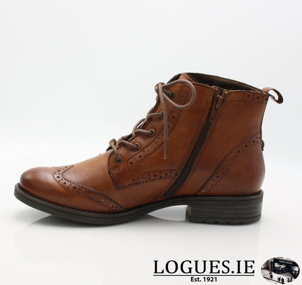 56931 BUGATTI AW18LadiesLogues Shoes6300 COGNAC / 40 = 6.5/7 UK