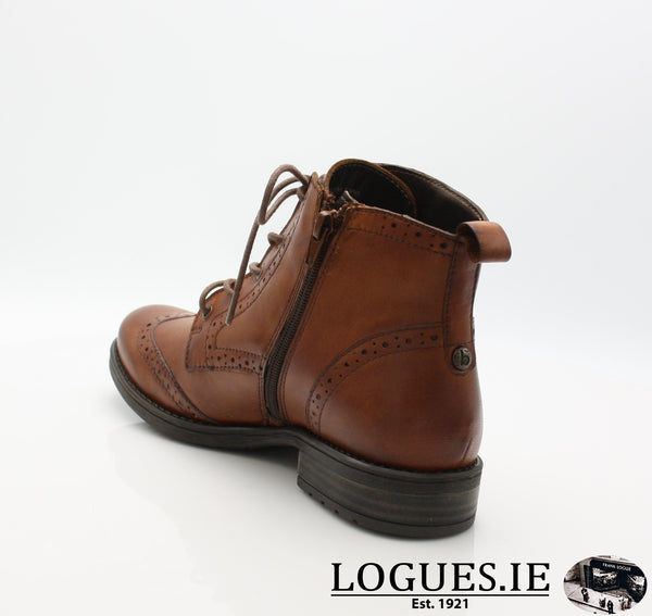 56931 BUGATTI AW18LadiesLogues Shoes6300 COGNAC / 41 = 7/8 UK