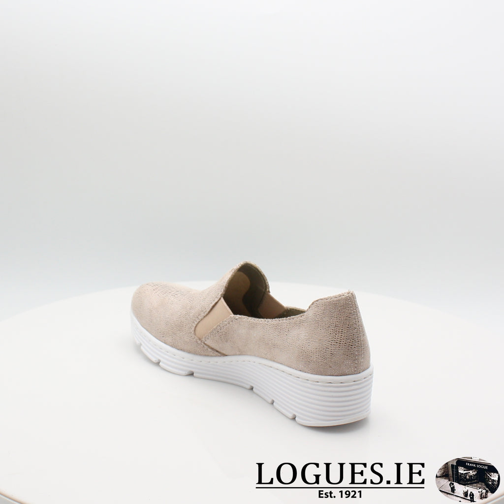 587B0 RIEKER 20, Ladies, RIEKIER SHOES, Logues Shoes - Logues Shoes.ie Since 1921, Galway City, Ireland.