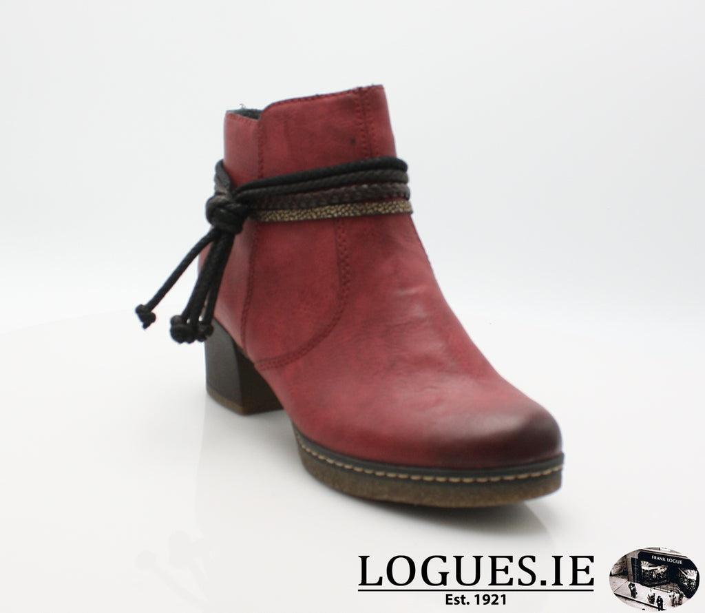 RKR 59098LadiesLogues Shoeswine/testadimoro/ 35 / 37