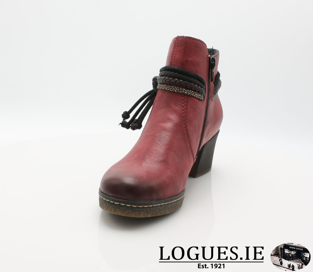RKR 59098LadiesLogues Shoeswine/testadimoro/ 35 / 38