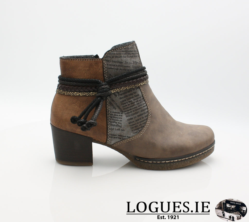 RKR 59098LadiesLogues Shoesfango/cigar/brand 64 / 36