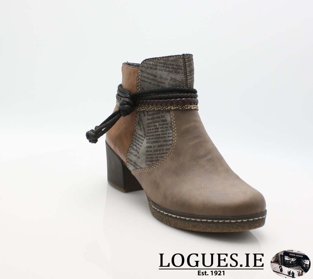 RKR 59098LadiesLogues Shoesfango/cigar/brand 64 / 37