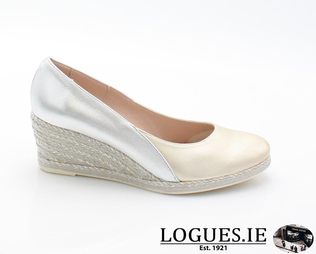 6029 JOSE SAENZ SS18LadiesLogues ShoesMETAL / 37 = 4 UK