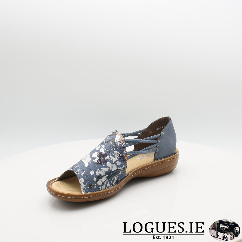 608F1 Rieker 20, Ladies, RIEKIER SHOES, Logues Shoes - Logues Shoes.ie Since 1921, Galway City, Ireland.