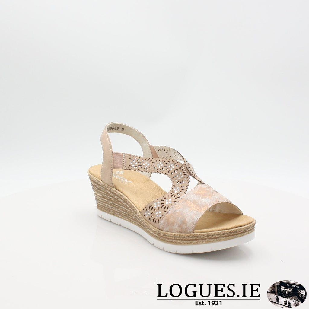 61916  RIEKER 19LadiesLogues Shoesrosa 31 / 37