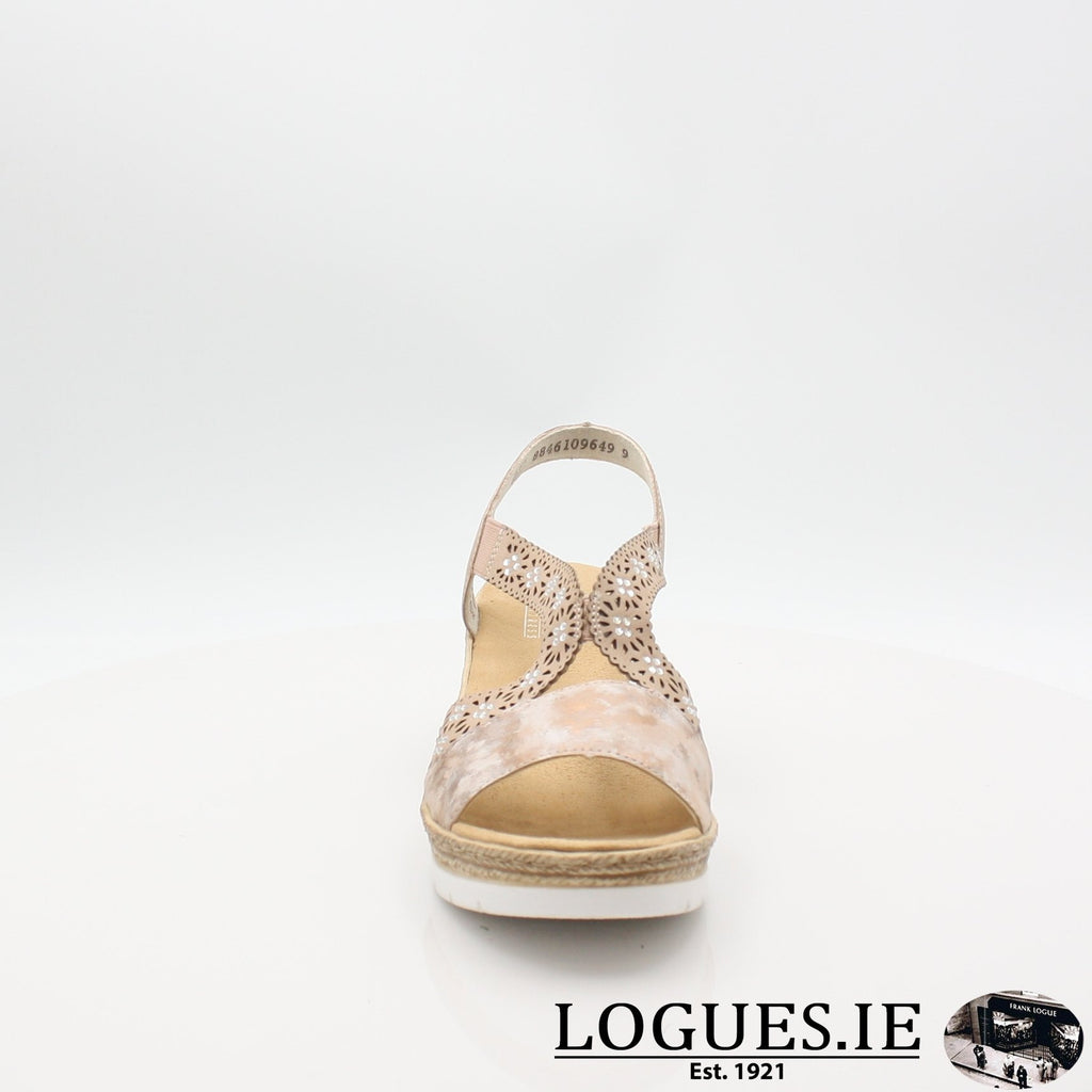 61916  RIEKER 19LadiesLogues Shoesrosa 31 / 38