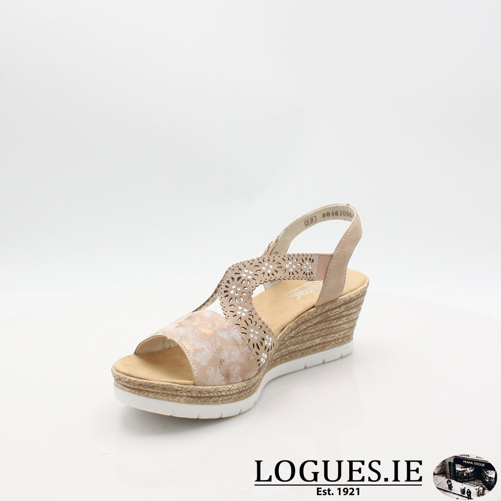 61916  RIEKER 19LadiesLogues Shoesrosa 31 / 39
