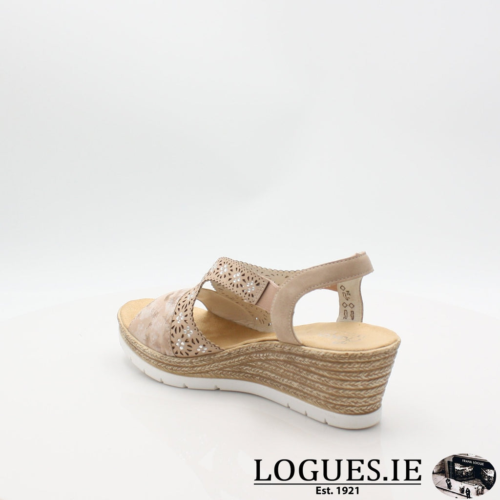 61916  RIEKER 19LadiesLogues Shoesrosa 31 / 40