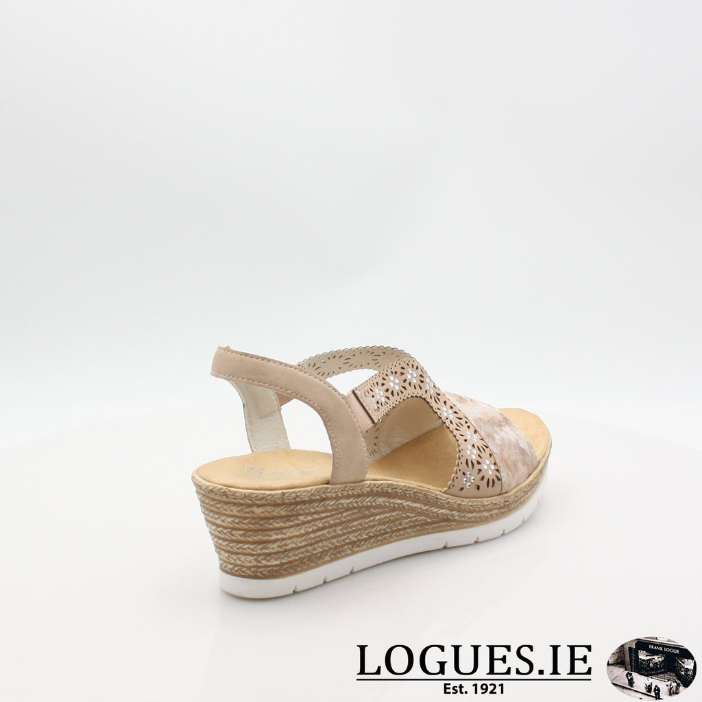 61916  RIEKER 19LadiesLogues Shoesrosa 31 / 42