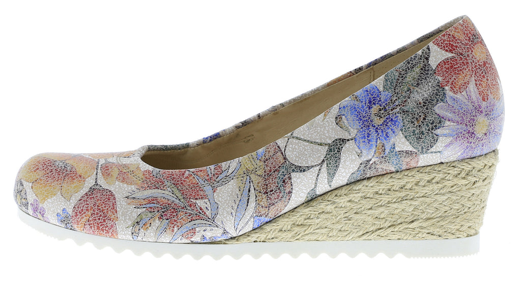 GABOR 62.050-Ladies-Gabor SHOES-38 Multicolor (Jute)-2½-Logues Shoes
