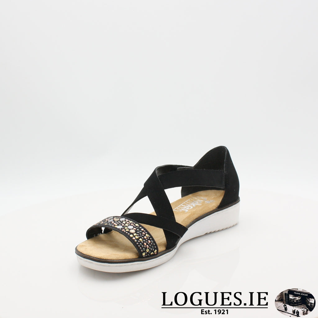 RKR 63605 RIEKER 19LadiesLogues Shoes