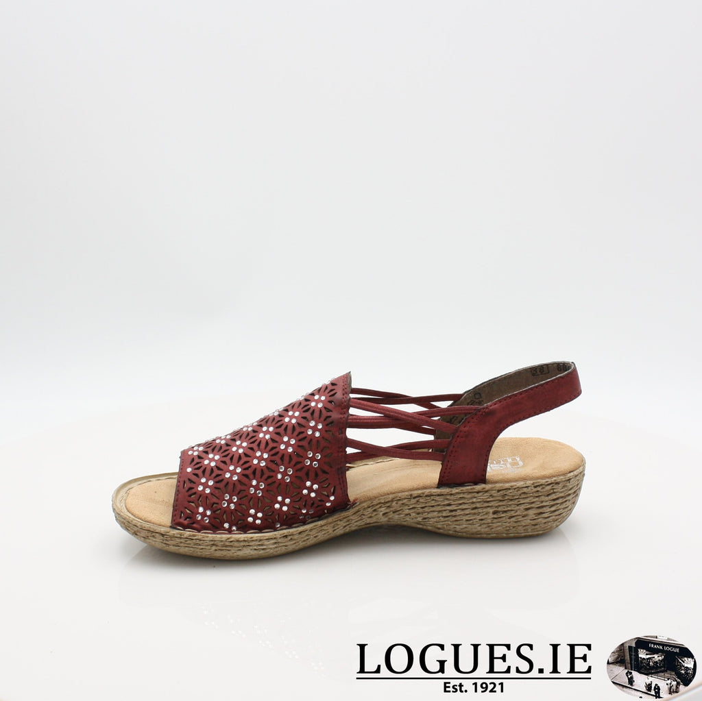 658B2 RIEKER 19LadiesLogues Shoes