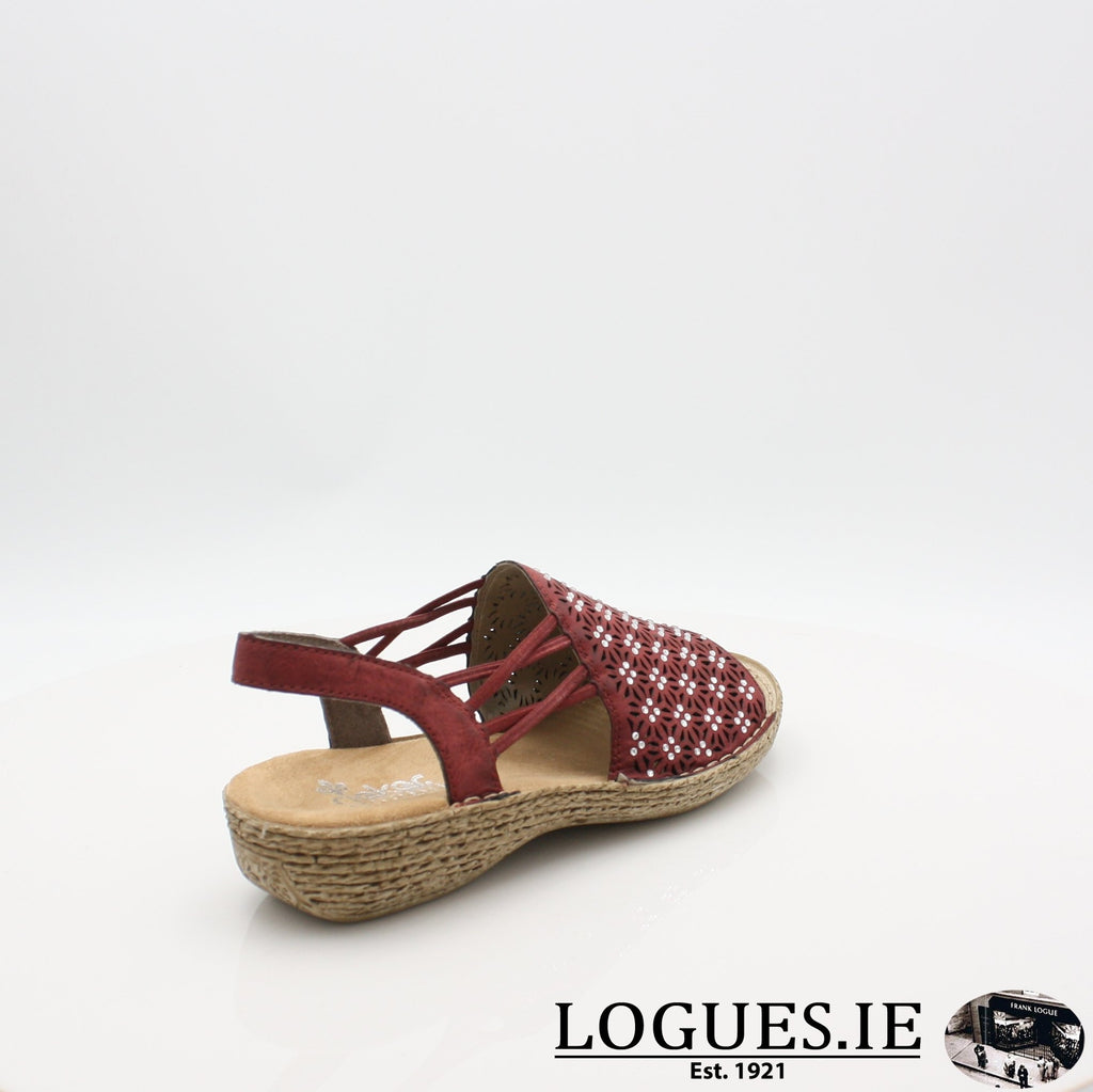 658B2 RIEKER 19, Ladies, RIEKIER SHOES, Logues Shoes - Logues Shoes.ie Since 1921, Galway City, Ireland.