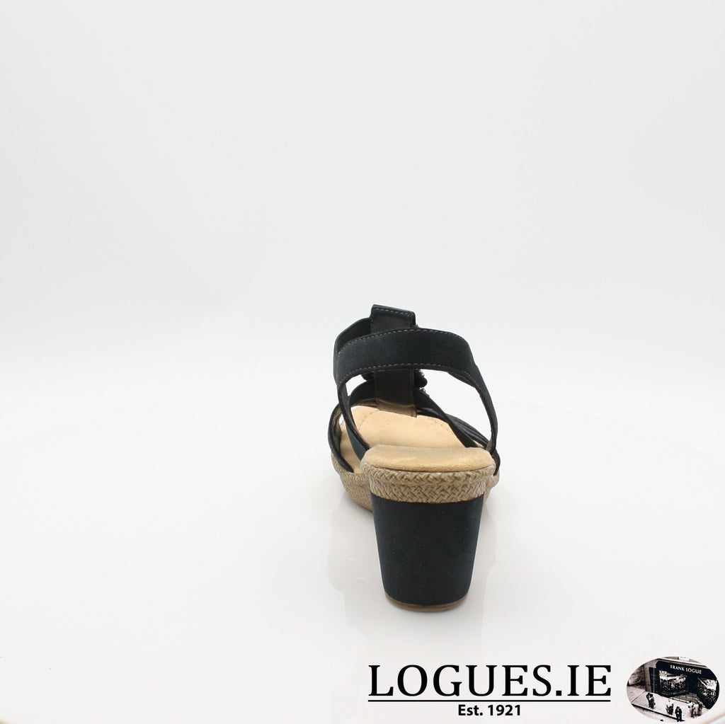665G8 RIEKER 19LadiesLogues Shoesblue 14 / 41