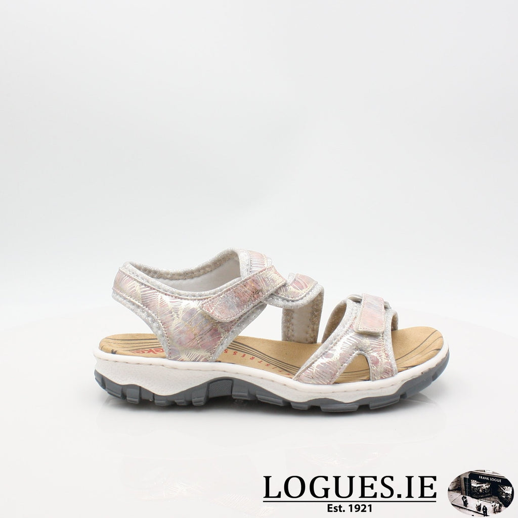 68869 19 RIEKERLadiesLogues Shoesmetallic 90 / 36