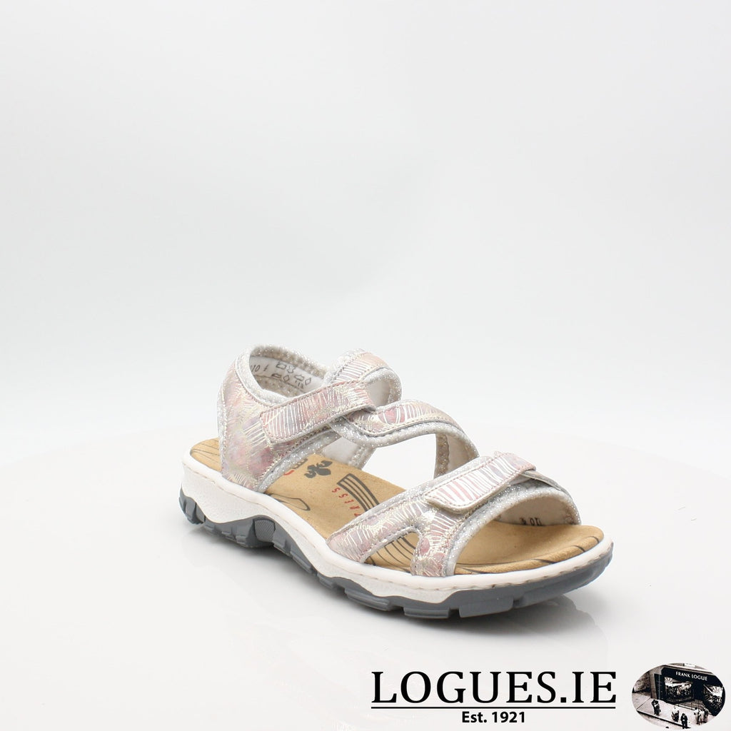 68869 19 RIEKERLadiesLogues Shoesmetallic 90 / 37
