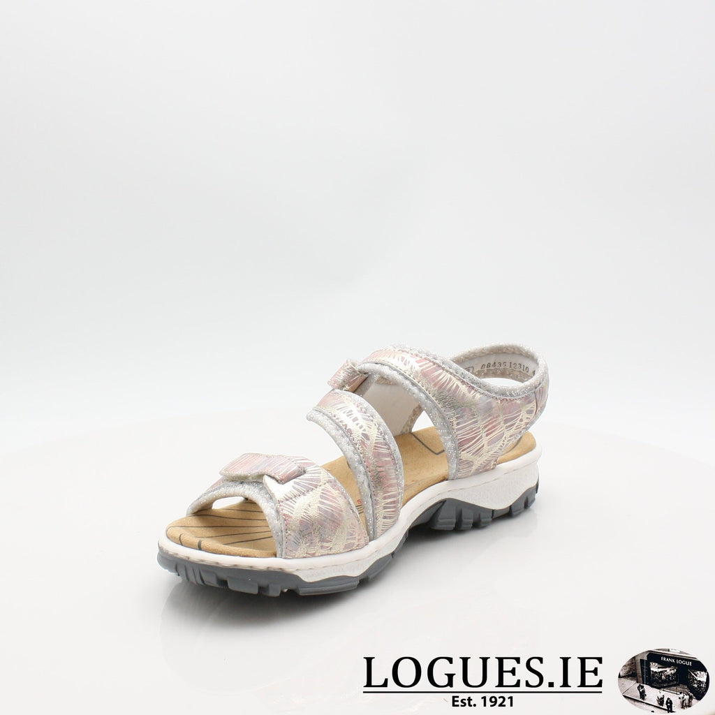 68869 19 RIEKERLadiesLogues Shoesmetallic 90 / 38