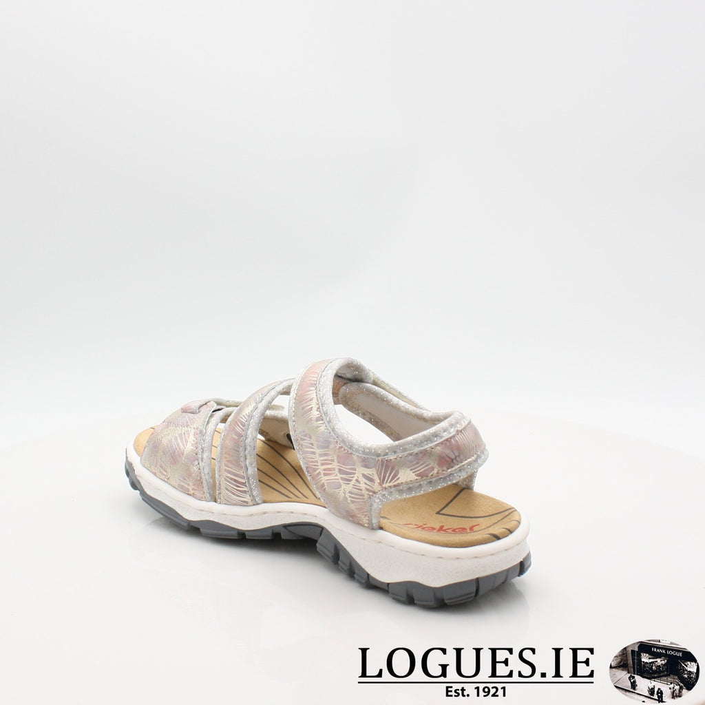 68869 19 RIEKERLadiesLogues Shoesmetallic 90 / 40