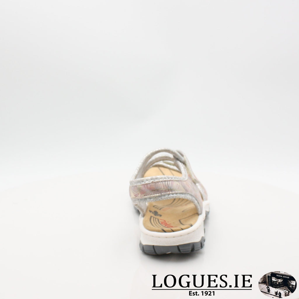 68869 19 RIEKERLadiesLogues Shoesmetallic 90 / 41