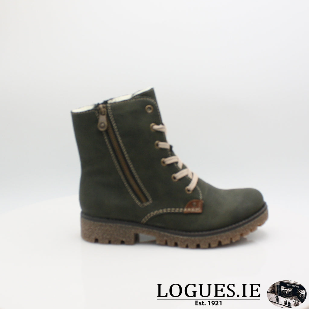RKR 79839LadiesLogues Shoesforest/mogano 54 / 36