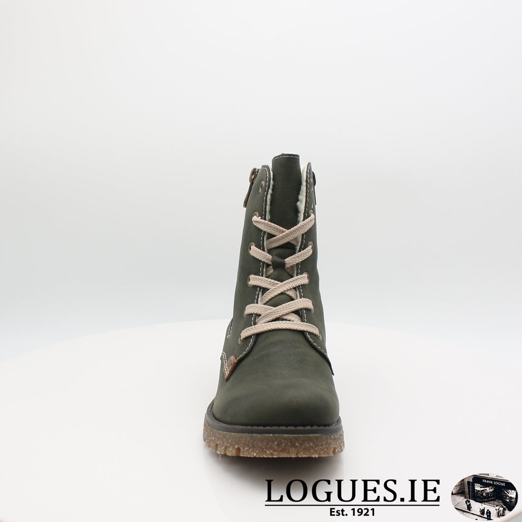 RKR 79839LadiesLogues Shoesforest/mogano 54 / 37