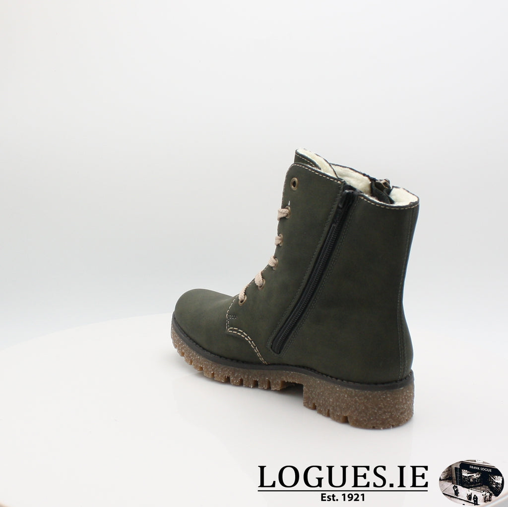 RKR 79839LadiesLogues Shoesforest/mogano 54 / 39