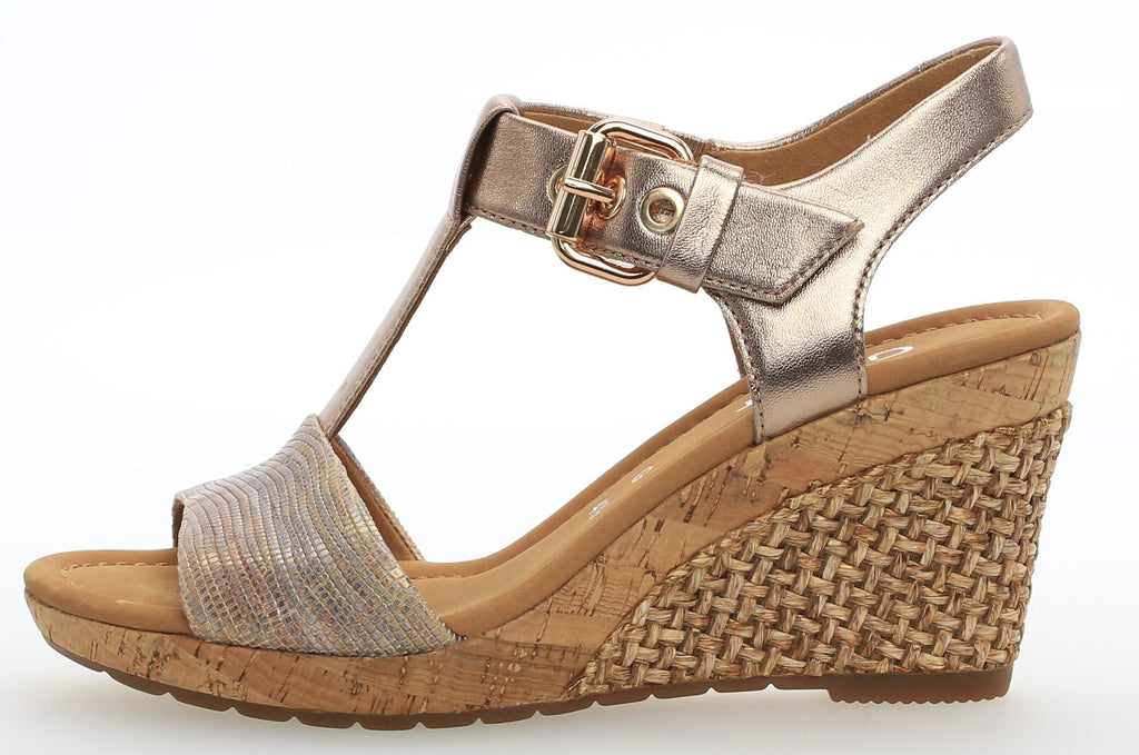 GAB 82.824LadiesLogues Shoes18 Beige/Rame (Grata / 8½
