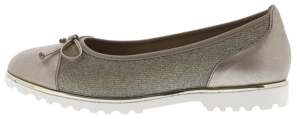 GAB 83.100-Ladies-Gabor SHOES-62 Platino (Gold)-3-Logues Shoes