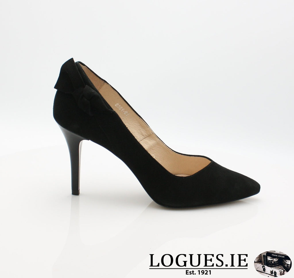 8361 WOJAS AW18-Ladies-wojas sa-61 BLACK-36 = 3 UK-Logues Shoes