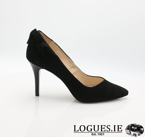 8361 WOJAS AW18LadiesLogues Shoes61 BLACK / 36 = 3 UK