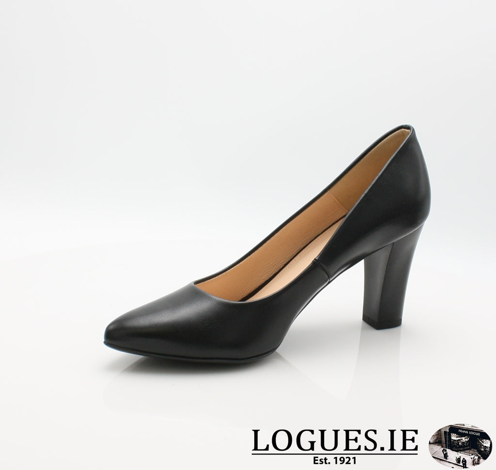 8378 WOJAS AW18-Ladies-wojas sa-BLACK 51-36 = 3 UK-Logues Shoes