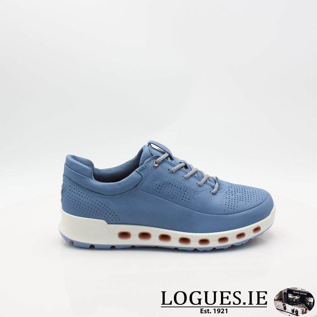842513  ECCO 19 COOL 2,0LadiesLogues ShoesRETRO BLUE 01471 / 42