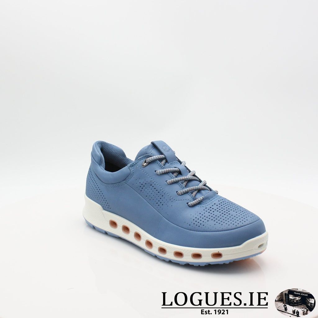 842513  ECCO 19 COOL 2,0LadiesLogues ShoesRETRO BLUE 01471 / 35