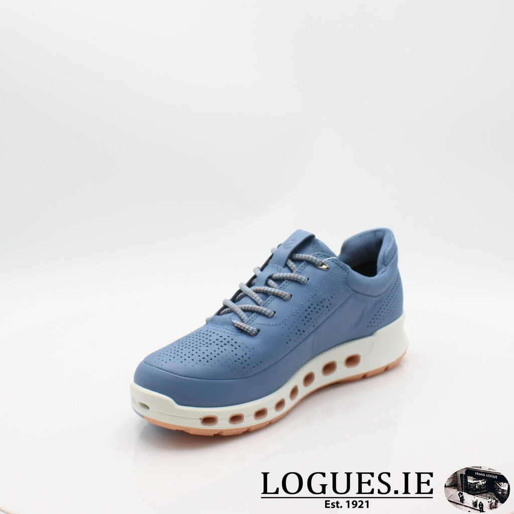 842513  ECCO 19 COOL 2,0LadiesLogues ShoesRETRO BLUE 01471 / 37