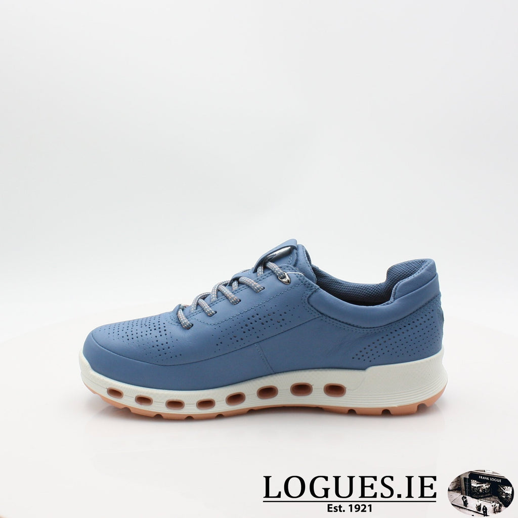 842513  ECCO 19 COOL 2,0LadiesLogues ShoesRETRO BLUE 01471 / 38