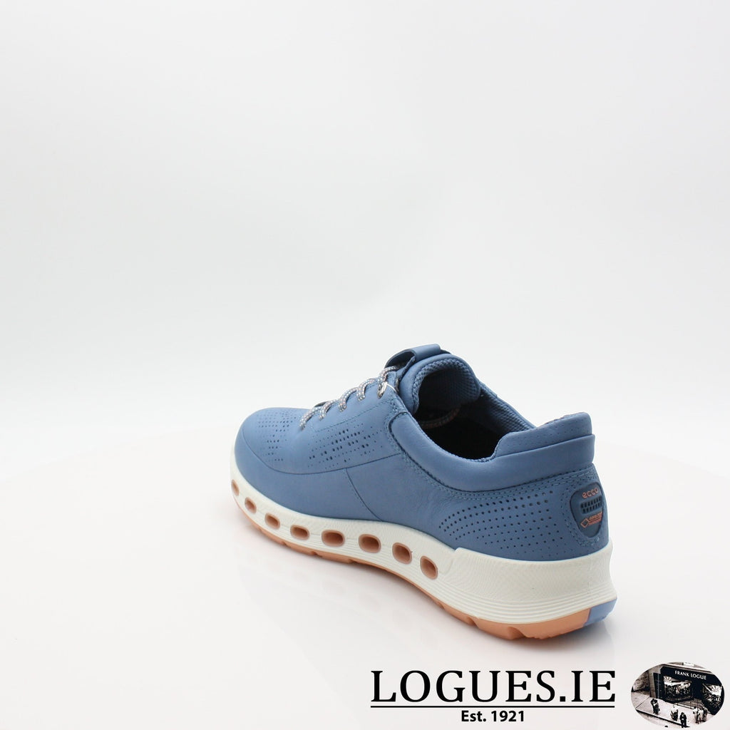 842513  ECCO 19 COOL 2,0LadiesLogues ShoesRETRO BLUE 01471 / 39