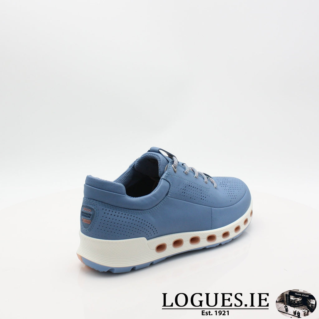 842513  ECCO 19 COOL 2,0LadiesLogues ShoesRETRO BLUE 01471 / 41
