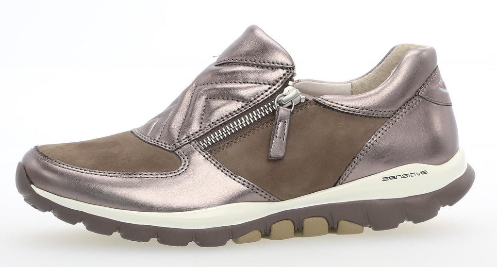 GAB 86.962-Ladies-Gabor SHOES-31 Fumo/Argento-2½-Logues Shoes