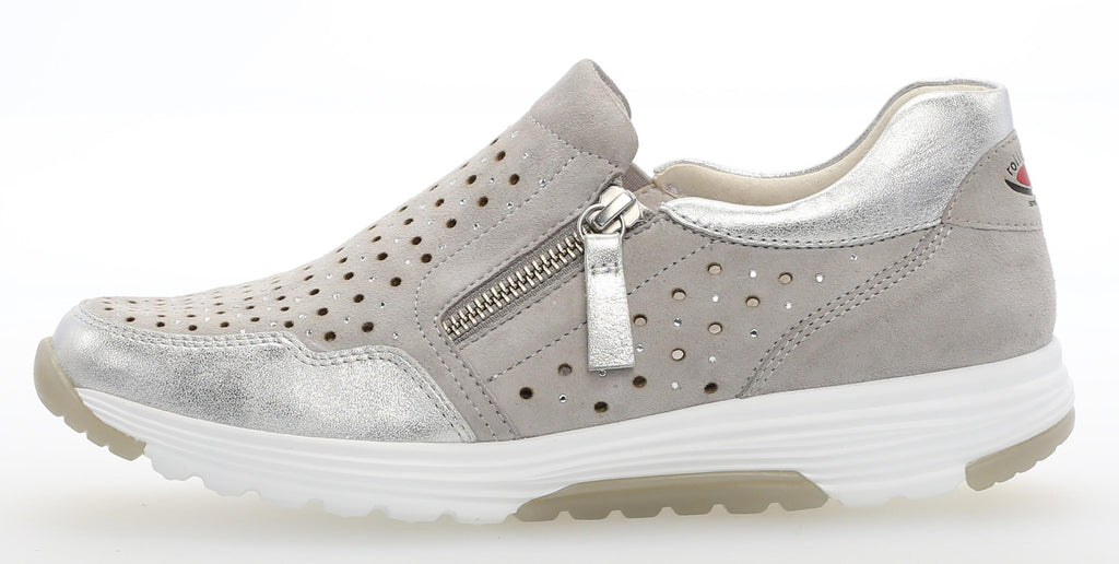 GAB 86.971-Ladies-Gabor SHOES-40 Light Grey/Ice-2½-Logues Shoes